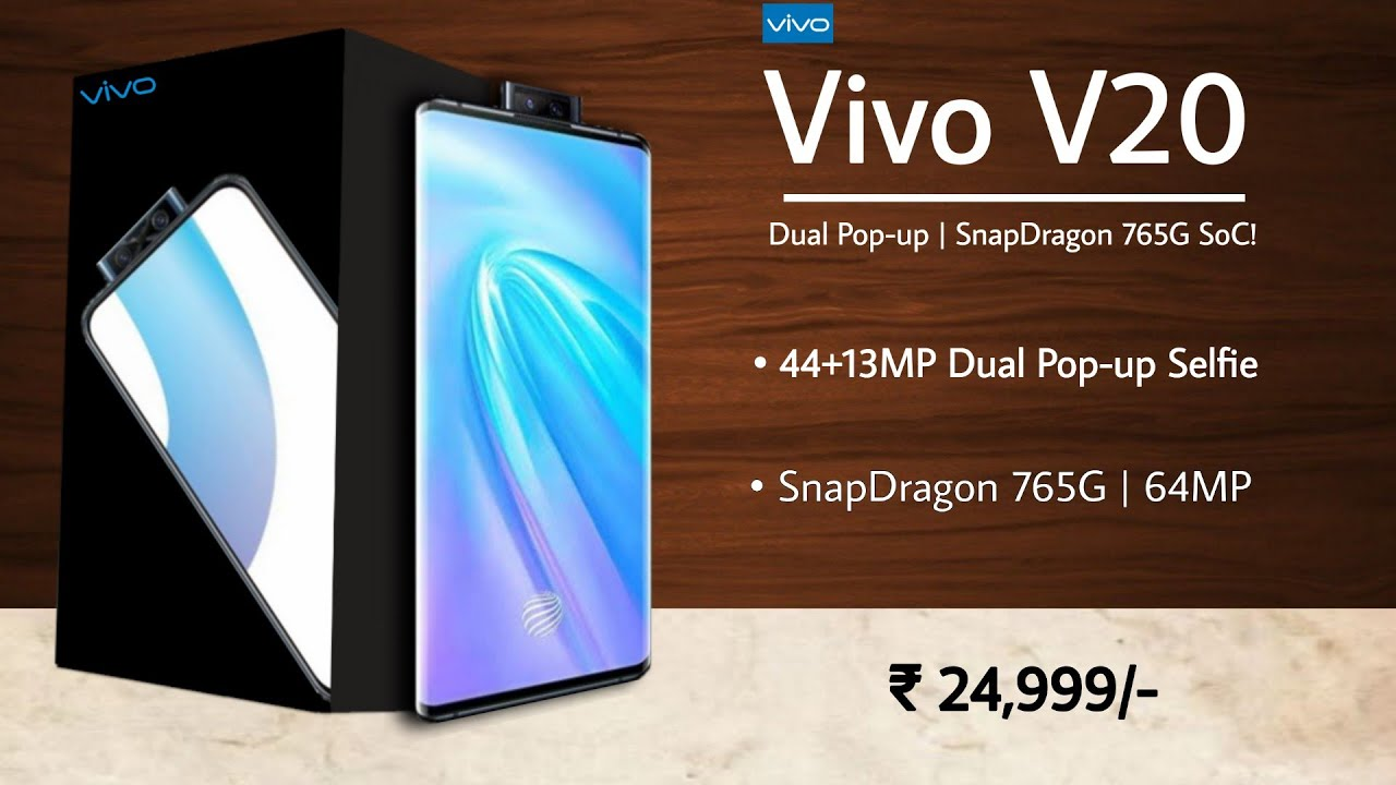 Vivo V20 5G - OnePlus Nord Killer | Official First Look, Price, Specs,  Launch Date India | Vivo V20 - YouTube