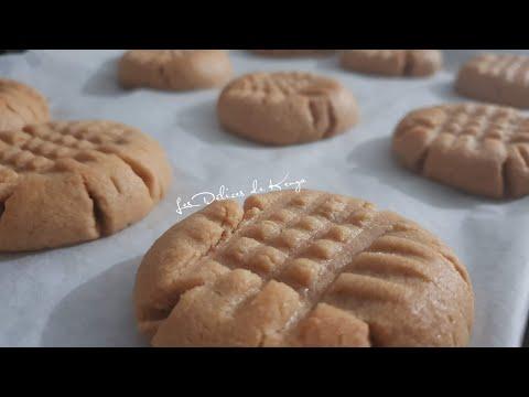 biscuits-au-beurre-de-cacahuète-avec-seulement-3-ingrédients