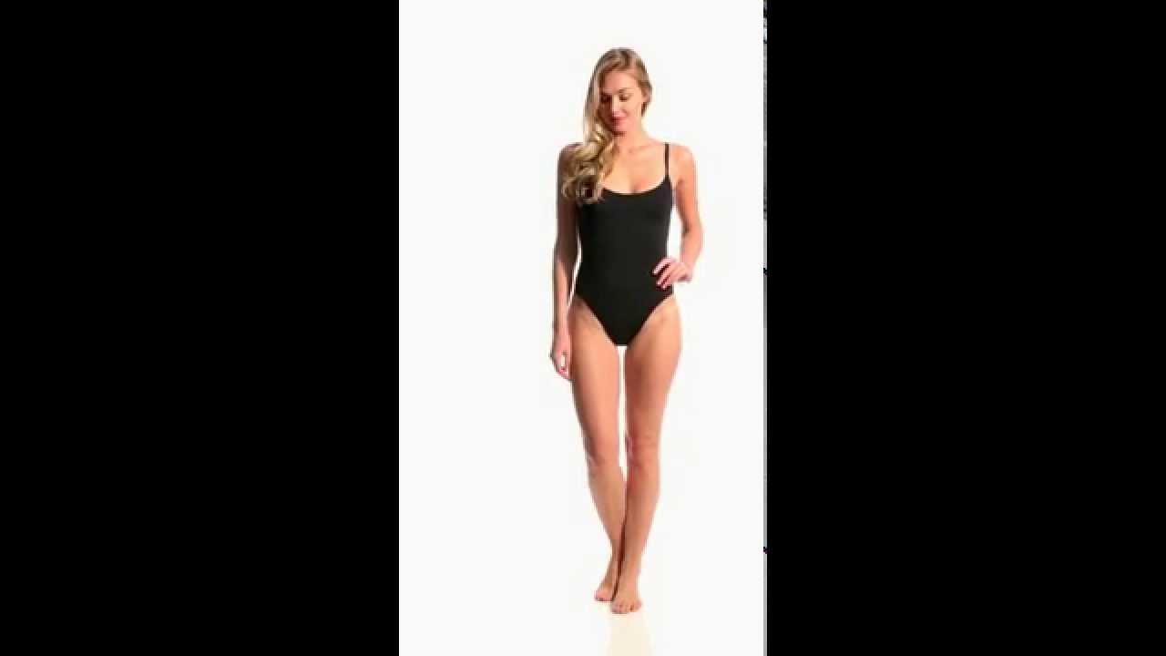 082125f780a0e8 Anne Cole Studio Solid Vintage One Piece Swimsuit | SwimOutlet.com ...