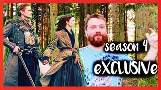 Outlander EXCLUSIVE LOOK - Brave The New World in Season 4