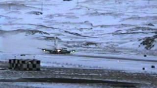 Alaska Air Landing at Adak, AK  1-23-1995