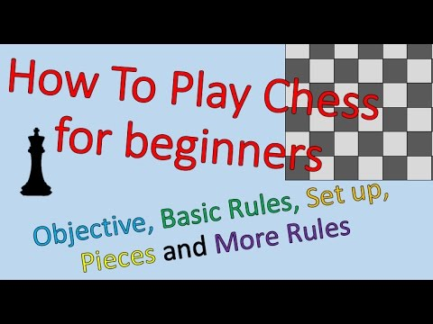 Learn to Play Chess in about 15 minutes!
