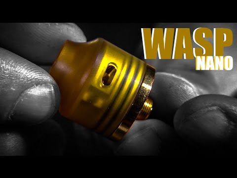The Wasp Nano RDA by Oumier Doesn't Have Enough Buzz Yet (couldn't help myself) | Single Coil Vapers