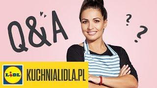 Q&A - zero waste ♻   Kinga Paruzel odpowiada na Wasze pytania w Kuchni Lidla!
