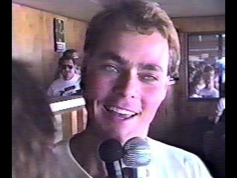 Jeff Purvis interview at the 1989 World 100 at Eldora Speedway