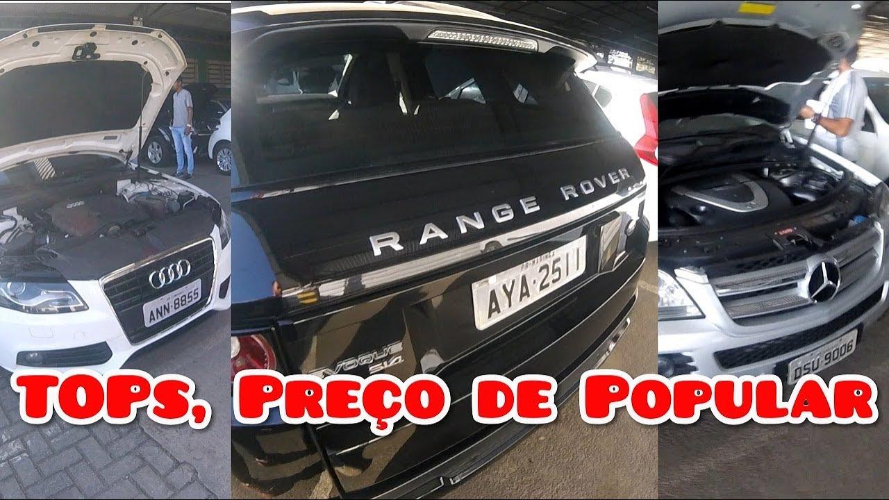 CARRO DE LUXO Preço de POPULAR! LEILÃO com Audi A4,  Evoque, Mercedes Benz C500
