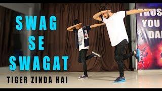 Swag se swagat song Dance Choreography | Tiger Zinda Hai | Vicky Patel