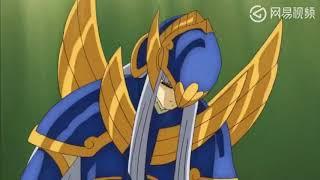 圣斗士星矢 沙加对阵神斗士  使用绝招saint saiya fighting 16