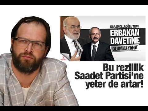 Fatih Tezcan   Erbakan, Erdoğan, Ak Parti, Saadet, Milli Görüşçüler CHP ve Kılıçdaroğlu