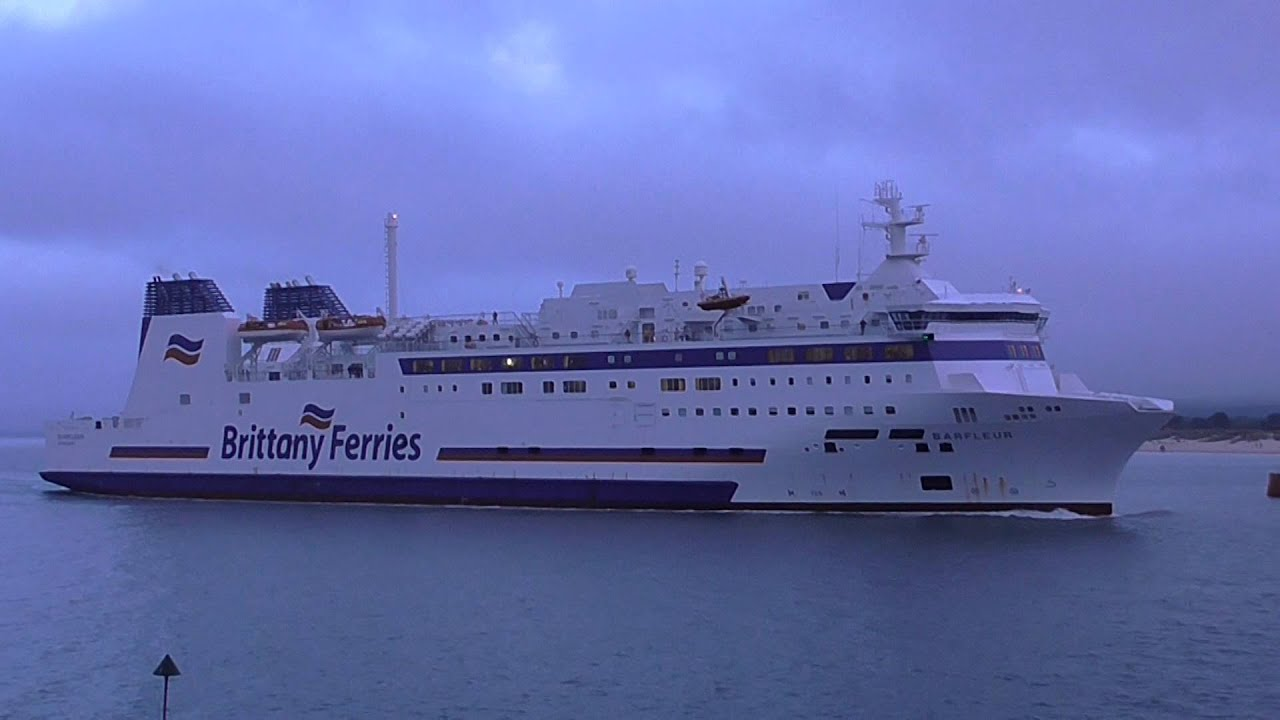 Barfleur cruise ferry ship information brittany ferries - Brittany Ferries Barfleur Arriving At Poole Harbour 26th June 2015