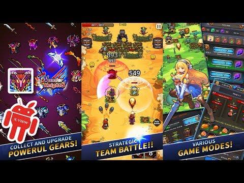 Wonder Knights : Retro Shooter RPG Gameplay [1080p] X-View 🔪🔪