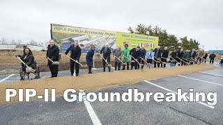 Groundbreaking for Fermilab's new state-of-the-art particle accelerator thumbnail