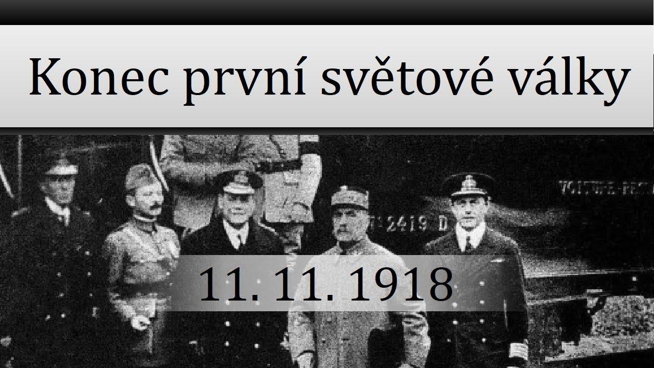 Konec první světové války - YouTube