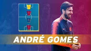 ANDRÉ GOMES   MY TOP 4 (LEGENDS)