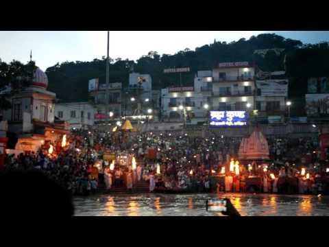 Ganges ceremony India Global Exploration 2015