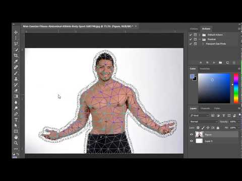 how to add fill flash in photoshop cc