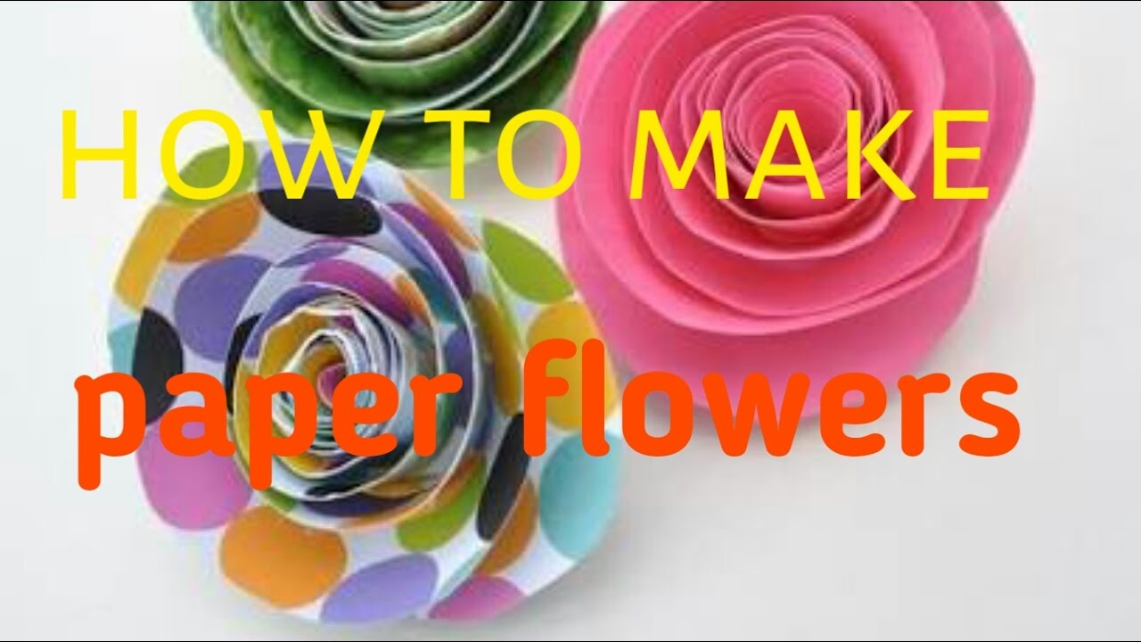 How to make paper flowers small children learn 5 minutes craft how to make paper flowers small children learn 5 minutes craft mightylinksfo