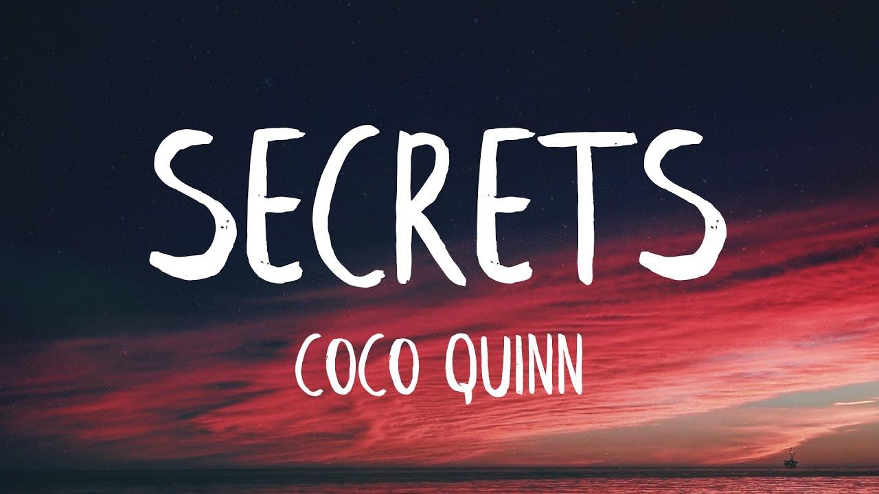 Download Coco Quinn - Secrets (Lyrics) (Best Version)
