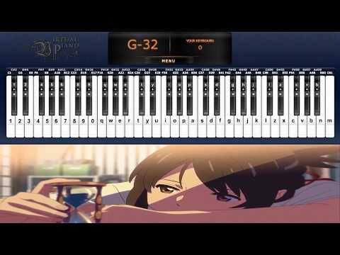 Kimi no Na wa - Kataware Doki(Theishter)[VIRTUAL PIANO]