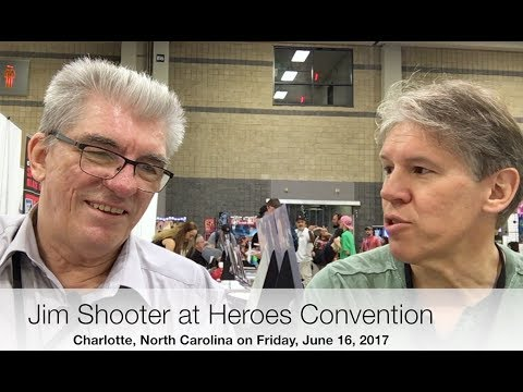 Heroes Convention Interview with Jim Shooter