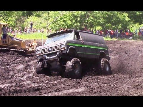 Ford Van Mudding At Perkins Spring Mud Bog