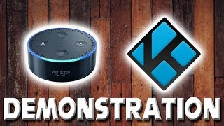 How to Control Kodi with Alexa Demonstration