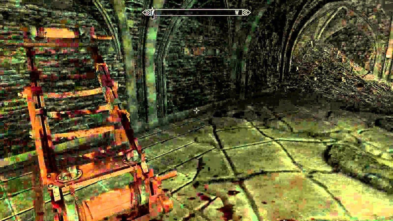 Skyrim Mod Half Moon Vampire Lair Werewolf Lord Armor Youtube