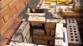 Строительство мангала из кирпича(Огромный выбор проектов, каминов, печей, барбекю, на сайте: http://bit.ly/1GYo9xk Тэги для этого видео: проекты камин..., 2015-07-03T14:33:16.000Z)