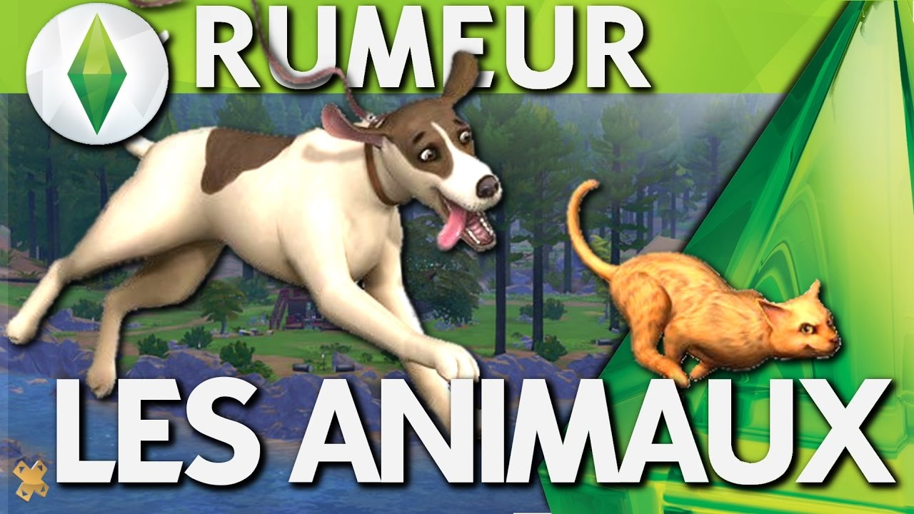 Les Sims 4 | ANIMAUX | Bientôt les animaux de compagnie