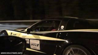 Chevrolet Corvette ZR1 vs Nissan GT-R Switzer P800