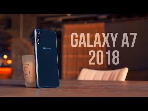 Samsung Galaxy A7 2018: Cine are nevoie de 3 camere? (Review în Română)