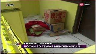 Polisi Masih Selidiki Kasus Pembunuhan Bocah SD di Kamar Mandi Kontrakan - iNews Sore 18/09