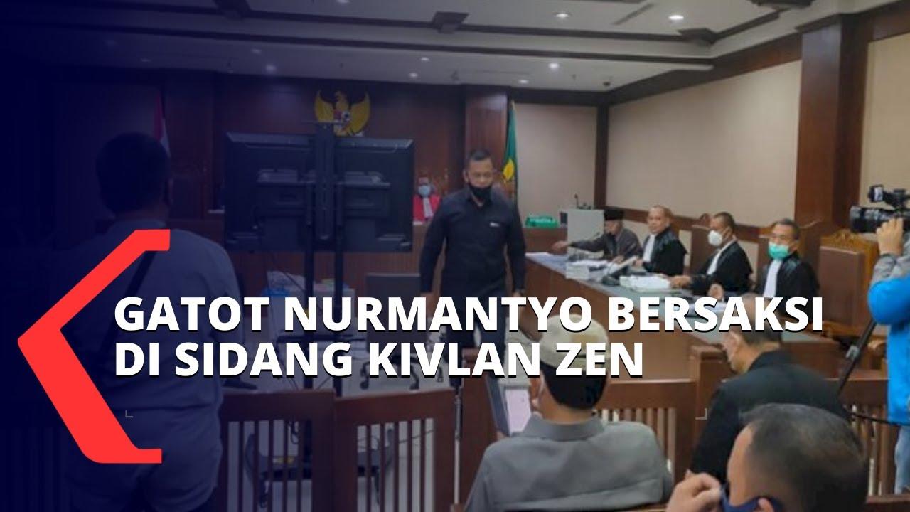 Download Gatot Nurmantyo Berikan Kesaksian di Sidang Kivlan Zen Terkait Kepemilikaan Senjata Api Ilegal