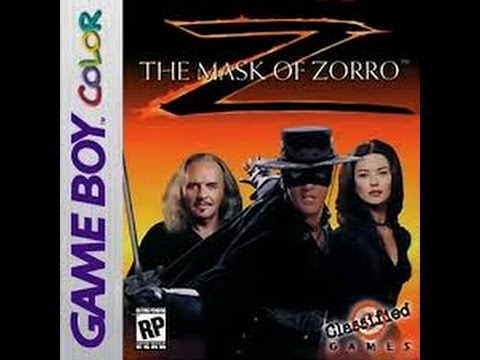 Mask of Zorro - Gameboy- Full Game No commentary Walkthrough