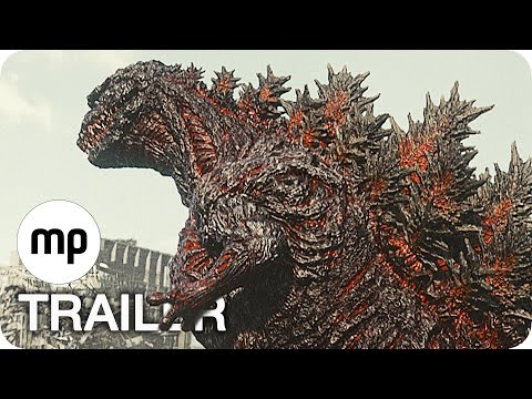 SHIN GODZILLA Trailer 2 German Deutsch (2017) streaming vf