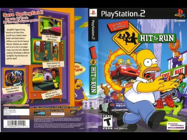 The Simpsons Game Ps3 Pkg