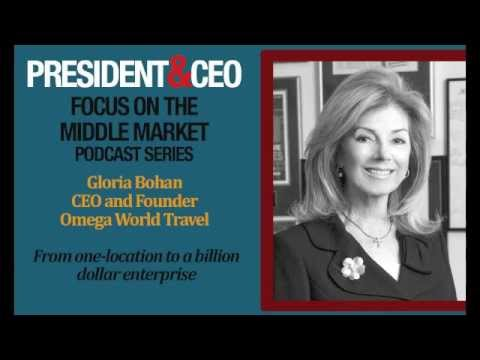 Gloria Bohan, CEO and Founder of Omega World Travel