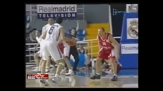 2002 Real (Madrid) - CSKA (Moscow) 82-86 Men Basketball EuroLeague, 2d group stage, full match