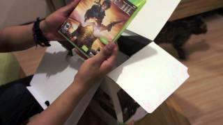 Unboxing Xbox 360 250 Gb Holiday Bundle.