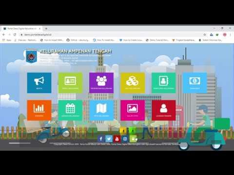 Video Tutorial Layanan Mandiri Portal Desa Digital
