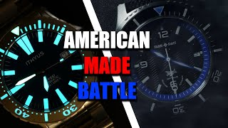 Which is the BEST AMERICAN MADE WATCH? ITHYUS Abyssi VS Farr & Swit Seaplane