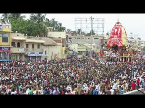 Rath Yatra Chariot Festival, Puri, July 7, 2016-Chariot of Jagannath
