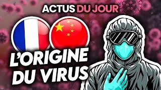 Réponse sur l'origine du virus, Covid en France depuis longtemps, étudiants... Actus du jour