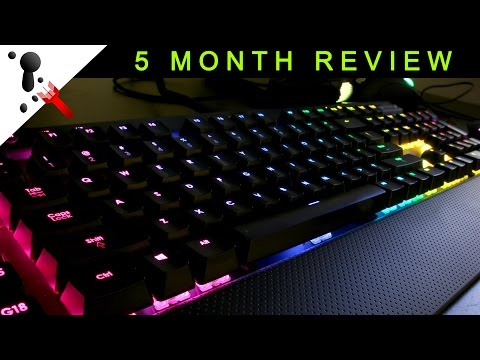 Corsair K95 RGB 5 Month Review and Tips (Mechanical Keyboard)