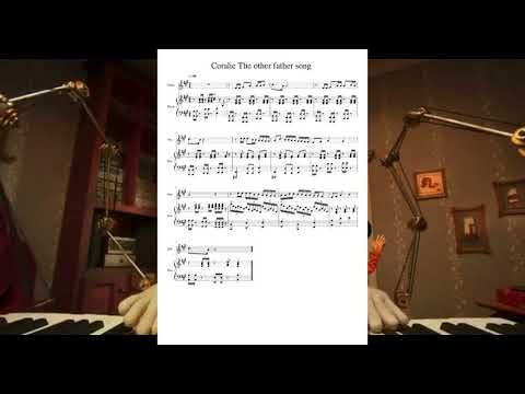 Música Coraline com partitura