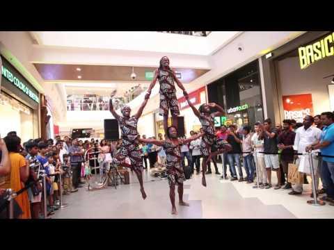 African Acrobats | Phoenix Marketcity Chennai