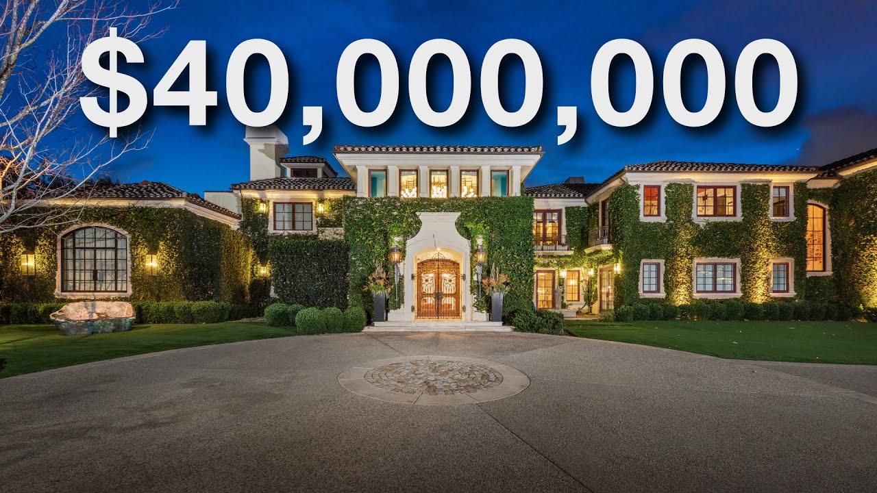 INSIDE a $40 MILLION DOLLAR WORLD CLASS BEVERLY HILLS COMPOUND