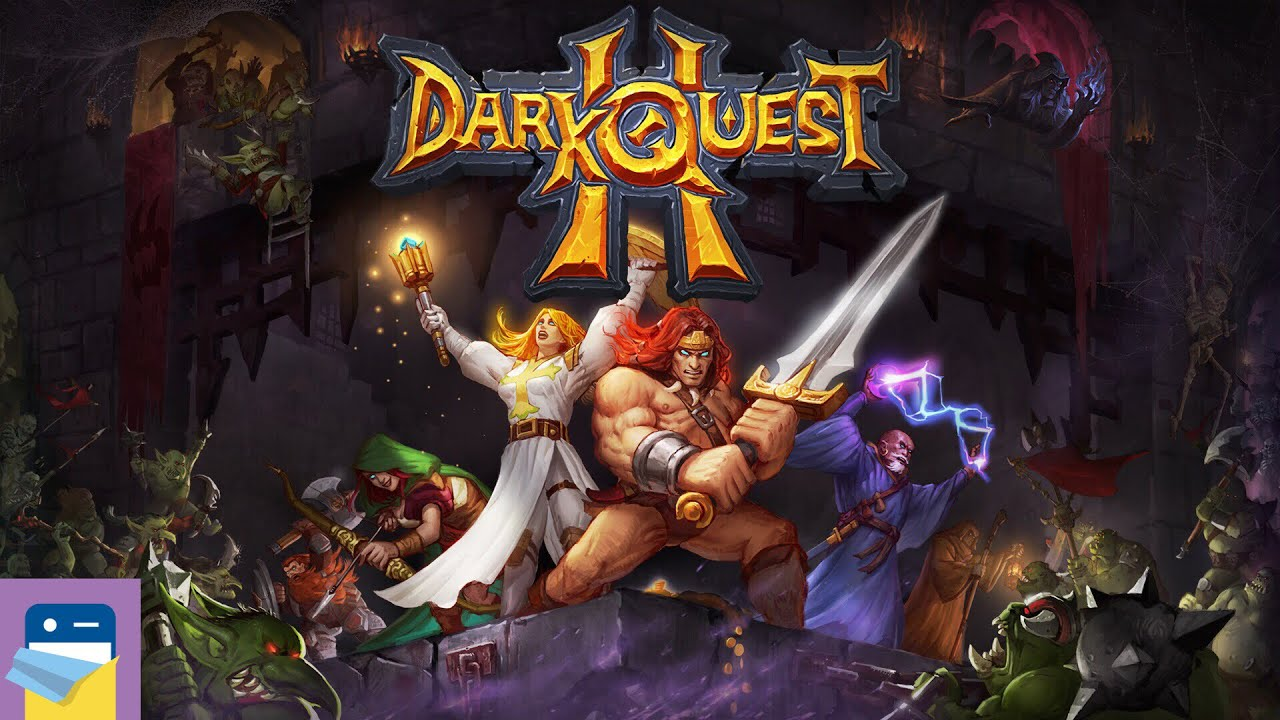 Dark Quest 2 Ios Android Gameplay Part 1 By Brain Seal Youtube