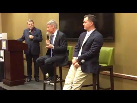 Gary Johnson vs Austin Petersen at the Libertarian Party Presidential Debate in Oregon