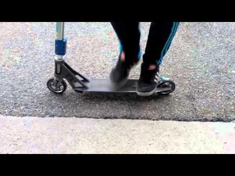 TUTO-Comment Faire Un Tail Whip En Trotinette Freestyle